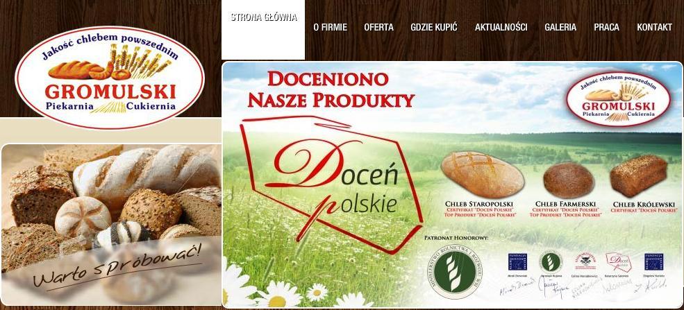 http://www.piekarniagromulski.pl/